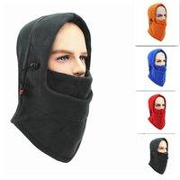 Caliente de la mascarilla del pasamontañas cara resistente al viento de trabajo pasamontañas actividades al aire libre Máscara capucha para hombres y mujeres