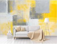 carta da parati foto personalizzata Moderna minimalista arte astratta pittura ad olio pittura graffiti murale sfondo muro