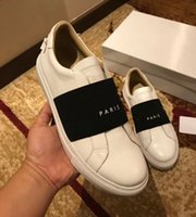 Nuovo Trendy Stagione dei pattini casuali delle donne degli uomini Paris Fashion Sneakers Via Black Dress Elastic Band Scarpe con la zeppa Chaussures Tennis