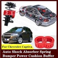 Для Chevrolet Captiva 2шт высококачественный передний или задний автомобильный амортизатор пружинный бампер мощность авто-буфера автомобильная подушка уретан