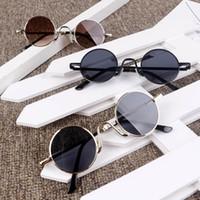 Круглые солнцезащитные очки мальчики пляж защитные девушки UV 400 Adumbral Sun Kids Sunglass Kids222