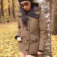 New Fashion Winter Down Giacche Ridu Hooded Women Progettista di marca Parka per Ladies Outwear Classic Clothes Outdoor Warm Coats online