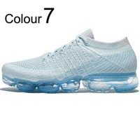 VaporMax Flyknit 2.0 2018 OWTênis de Corrida Com Os Pés Descalços Macio Sneakers Mulheres Respirável Esporte Atlético Sapatos Corss Caminhadas Jogging Sock Sapato Livre Run