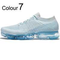 VaporMax Flyknit 2.0 2018 OWHommes Chaussures De Course Barefoot Doux Sneakers Femmes Respirant Athletic Sport Chaussure Corss Randonnée Jogging Chaussette Chaussure Free Run