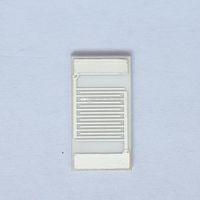 Electrodos de plata interdigitados Arreglos de condensadores interdigitales Sensor médico Sensor de gas Alúmina Cerámica Película gruesa IDE Ag Chip (7mm-13.4mm)