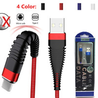 Type- C  Micro Mermaid Cables 1M 3FT USB Fast Charging Data C...