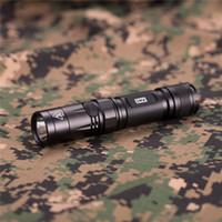 Nitecore EC23 Linterna de alto rendimiento 1800 lúmenes CREE XHP35 HD E2 LED Alto con 18650 Batería 5 nivel de brillo para acampar al aire libre ED