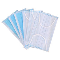 1000pic Ansigtsmaske 3- lag Disposable Mask Face Mask 3 Layer...