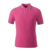جديد بولو تي شيرت الرجال 2020 تصميم مخطط التلبيب قصيرة الأكمام بلون الرجال الرياضة قمصان بولو السفينة حرة القطن وجيزة أنيقة