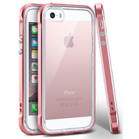 Top quality 2mm tpu coque hybrid clear case PC Bumper phone ...