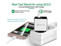 QC 3.0 Fast Charger parete USB Adapter ricarica rapida 5V 3A 9V 2A di potere di corsa veloce ricarica degli Stati Uniti per iPhone x xs Samsung tablet Huawei