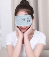 Masque pour les yeux 3D éponge ombre Nap couverture Masque Blindfold Eyeshade sommeil Masques pour dormir Trave vs Masques Silk Eye Livraison gratuite