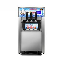 Meilleure vente rue commerciale, magasin de boissons fraîches investissement professionnel machine à crème glacée / machine à crème glacée douce