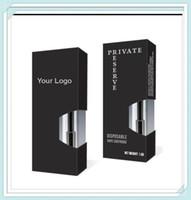 Sur mesure à usage unique Vape Cartouche 0,5ml 1ml papier imprimé d'emballage Boîte Pour vapes à cartouches meilleure vente et bonne quanity