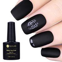 Soak UR SUGAR Schwarz Weiß Nagelgelpoliermittel Off UVspitzenmantel + Base Coat Opal Gelee-Gel-Lack Langlebig 7,5 ml Nagellack