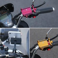 Universal Aluminium-Fahrrad-Motorrad-Telefon-Standplatz für 5-15cm Breite Smartphone Unterstützung Fahrrad Einstellbare Lenkerhalter Halterung neuen E