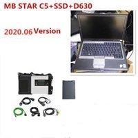 MB Star C5 SD Connect C5 Car Diagnostic 512GB SSD MB Star C5 D630 Gebraucht Laptop 2021.06V Softwares Vediamo / Xentry / Das
