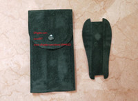 Paño de fábrica del envío de la alta calidad del reloj verde bolsa de 70 mm x 130 mm 116660 116610 126710 116613 Relojes bolsa de tela