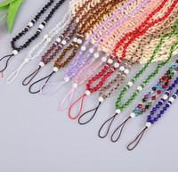 Neck Lanyard-Kristall-Perlen-Diamant Universal-Handy-Bügel-Riemen-Hang bewegliches Handy-Seils für iPhone Samsung Straps