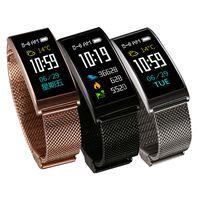 X3 Smart-Sport-Armband-Blutdruck-Armbanduhr Nachricht Benachrichtigung IP68 wasserdicht Fitness Pedometer Tracker Smart Watch für Android iPhone