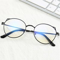 Ladies Cat Eye Glasses Frames For Women Metal frame Optical ...