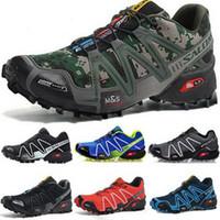 the best attitude e5aa7 77d40 Zapatos para correr Unisex Speed Cross 3 CS para hombre Zapatos de  diseñador para