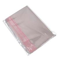 Sac poly sèche-adhésif de cellophane refermable Sac de stockage en plastique