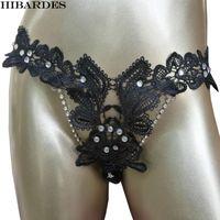 G-stringhe da donna sexy biancheria intima perizoma perizoma lingerie strass cristallo in pizzo regolabile donne slip calcinha tanga g stringa cueca mutandine