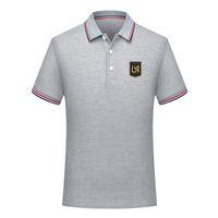 Los Angeles FC Soccer Polo Shirt Fútbol Polo de manga corta verano Camisa de moda entrenamiento Polo Camisas Camiseta de fútbol deportiva Polos para hombres