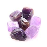 Natural Crystal Chakra Stone 7pcs Set Pietre naturali Palma Reiki Reiki Cristalli di Guarigione pietre preziose Decorazione della casa Accessori RRA2812