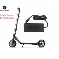 Original Ninebot Cargador Kits para Kickscooter ES1 ES2 42V 71W Enchufe Fuente de alimentación de batería para scooter eléctrico Hoverboard