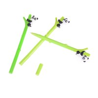 1 Pc Plastic 0. 5mm Cartoon Panda Bamboo Neutral Pen Gel Pen ...
