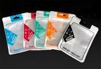 10.5 * 15 cm Kopfhörer Retail Package Boxen Reißverpackung Bag Box Zipper PVC OPP Paket Taschen für Kopfhörer Kopfhörer Ohrhörer