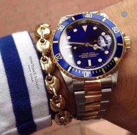 U1 Fábrica Top Seller Wristwatches Sapphire Blue Ceramic Bezel Acero inoxidable 40mm Menor automático MENS MENS Relojes Relojes