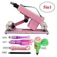 5in1 Automatic Thrusting Sex Machine with Accessory Female M...