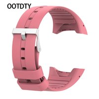 OOTDTY Smart Watch Strap Silicone Watch Band Wristband Brace...