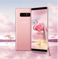 Yenilenmiş Samsung Galaxy Note 8 N950U Tek SIM Orijinal Unlocked LTE Çift Arka 12.0MP 6.3 inç Snapdragon 835 Parmak İzi Cep Telefonu
