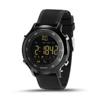 EX18 Смарт Часы IP67 Водонепроницаемый 5ATM пассометр Смарт Часы наручные Спортивные мероприятия Смарт браслет Tracker Bluetooth для IOS Android iPhone
