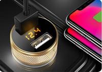 Carregador de carro do telefone móvel carregador de carro rápido multi-função usb flash carregador de isqueiro de cigarro rápido