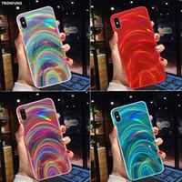 3D Радуга лазерный чехол для Samsung Galaxy A50 A30 A70 A20 A10 M10 S8 S9 S10 Plus A9 A6 A7 2018 Примечание 9 10 Plus Блеск Мягкая обложка