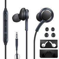 Evrensel 3.5mm Jack S10 Kulaklık Kulak Mikrofon Kulaklık Kulaklık Samsung Galaxy S8 S10 S9 Için Kulaklık Kulakiçi