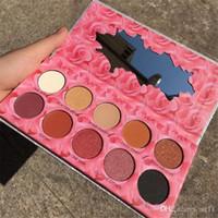 Nouveau maquillage Laura Lee Los Angeles 10 couleurs Pyjama de Cat Palette de fard à paupières Pigment Brillant Ombre à Paupières Cosmétique