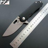 Cuchillo de bolsillo cuchillo plegable de la manija Eafengrow EF32 58-60HRC D2 G10 de la lámina acampa de la supervivencia herramienta de caza EDC táctico al aire libre ker Herramienta multi