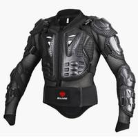 SULAITE Motosiklet zırhın ceketler Mesleki Motokros koruyucu Dişli Tam Vücut Zırh Koruma Omurga Göğüs Motokros yarışı takım elbise