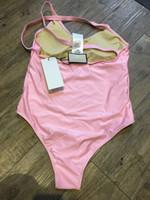 Venda quente Ligação Ligação Senhoras Senhoras Nadar Sexy Bikini Underwear Swimwear Womens Beach Swimsuit Banhos De Banho Sexy Swimsuits Com Tags