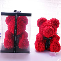 12 Styles 40cm Rose bear Valentines and Christmas Gift prese...