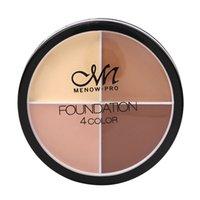 En stock! En gros maquillage doux fond de teint crème C14002 4color fond de teint cosmétique couleur anti-cernes Fond de teint liquide