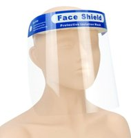 PET Clear Transparent Protective Mask Anti- droplets Dust Fac...
