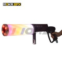 Verzonden van Spanje Handheld LED CO2 Gun Stage Effect Cryo LED CO2 Jet Machine Pistool CO2 DJ Gun Free Gas Slang