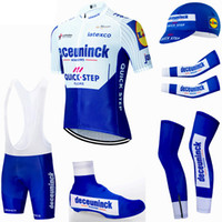 Cyclisme maillot 2020 équipe Pro Quick Step Vêtements de vélo respirant VTT jersey vélo armwarmer Legwarmer short kit bavette Ropa Ciclismo